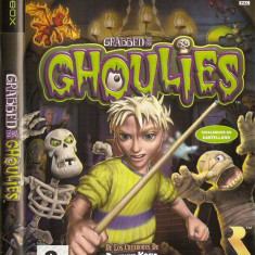 JOC XBOX clasic GRABBED BY THE GHOULIES ORIGINAL PAL / STOC REAL / by DARK WADDER - Jocuri Xbox Microsoft Game Studios, Actiune, 3+, Single player