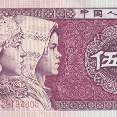 China 5 Yuan 1980