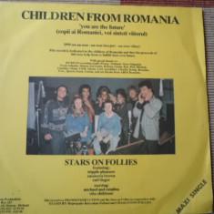 Doru Caplescu Children from Romania disc maxi single vinyl Muzica Pop electrecord rock, VINIL