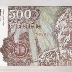 500 LEI APRILIE 1991 UNC. SERII CONSECUTIVE - Bancnota romaneasca