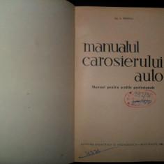 H. Freifeld, Manualul carosierului auto, 1963 - Carti auto