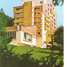 CPI (B1512) BAILE TUSNAD, HOTEL OLT, EDITURA MERIDIANE, CIRCULATA 1986, STAMPILE, TIMBRU.