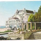 Carte postala(ilustrata)-CONSTANTA-Restaurantul Cazino - Carte Postala Dobrogea dupa 1918, Circulata, Printata