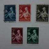 Olanda 1938 serie Copii cota 10 euro