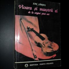 Ion Sarbu, Vioara si maestrii ei -de la origini pana azi,1994 , autograf