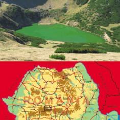 Harta Muntii Cindrel Bel Alpin - Harta Turistica