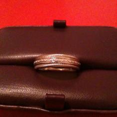 Inel aur alb cu 25 de diamante