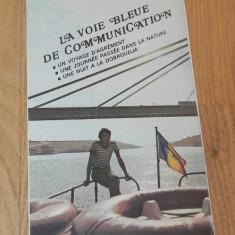 De colectie. pliant EPOCA DE AUR - CANALUL DUNARE MAREA NEAGRA