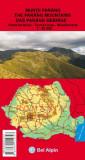 Harta Muntii Parang Bel Alpin