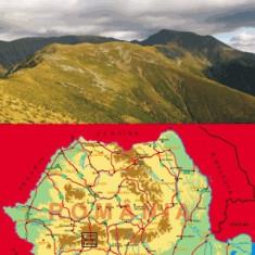 Harta Muntii Parang Bel Alpin - Harta Turistica
