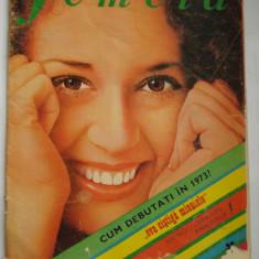 Revista FEMEIA - ianuarie 1973