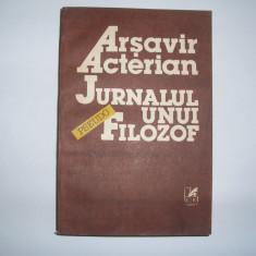 Jurnalul Unui Pseudo-filozof - Arsavir Acterian, R17 - Biografie