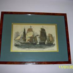 Tablou corabie veche - Reproducere