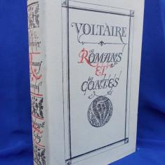 VOLTAIRE - ROMANS ET CONTES / ROMANE SI POVESTIRI / MOSCOVA / 1985