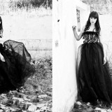 Rochie Monica Salcudean New with tag - Rochie de seara, Marime: 36, Culoare: Negru, Maxi, Fara bretele
