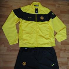Trening Nike Manchester United ORIGINAL - import Marea Britanie - - Trening barbati Nike, XL, Galben