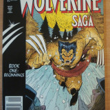 The Wolverine Saga . Marvel Comics - Reviste benzi desenate Altele