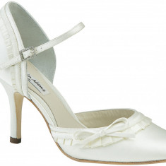 Pantofi mireasa Benjamin Adams, mar. 39 - Pantof dama Adams, Cu toc