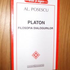 PLATON ** FILOSOFIA DIALOGURILOR  -- Al. Posescu -- [ 2001, 349p. ]
