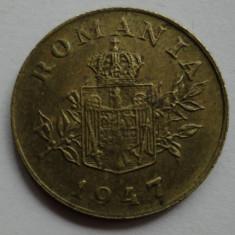 1 leu 1947 - 6 - - Moneda Romania