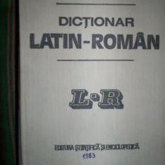Dictionar latin - roman 47.000 de cuvinte titlu - Gh. Gutu