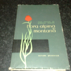 Ana Pauca / Stefana Roman - Flora alpina si montana - 1959