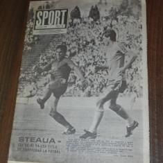 De colectie. REVISTA SPORT SPORTUL ILUSTRAT - nr 6/1989 - STEAUA BUCURESTI CAMPIOANA ROMANIEI. TITLUL 14 - Carte sport