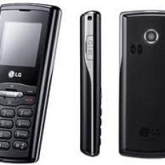 Vand telefon mobil LG GB115 nou - Telefon LG, Negru, Orange, Single SIM, Clasic