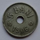 5 bani 1906 J - 3 -