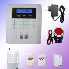 Sistem Alarma Casa GSM - Noul sistem de alarma GSM-19 cu PSTN dual net si display LCD - 30% Discount !