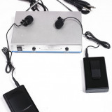 SUPER SET 2 MICROFOANE WIRELESS/LAVALIERA+RECEIVER! SIGILATE! MICROFOANE WIRELESS.