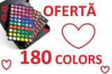 Trusa make up profesionala 180 culori paleta farduri, make up, cosmetice