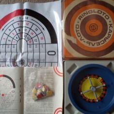 Ruleta joc de colectie vechi comunist USSR Estonian RINGLOTO RAR - Joc colectie