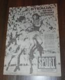 De colectie. REVISTA SPORT SPORTUL ILUSTRAT  - nr 6/1988 - STEAUA BUCURESTI CAMPIOANA ROMANIEI. TITLUL 13