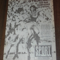 De colectie. REVISTA SPORT SPORTUL ILUSTRAT - nr 6/1988 - STEAUA BUCURESTI CAMPIOANA ROMANIEI. TITLUL 13 - Carte sport