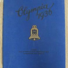 RAR,UNICAT PE OKAZII!  ALBUM(VOL.I) OLIMPIADA NAZISTA DE LA BERLIN DIN 1936