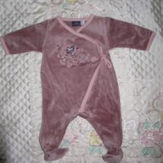 Pijamele bebe fetita Sergent Major