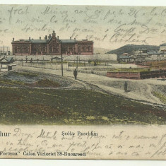 Port-Arthur : Scoala Puskin, circulata 1904