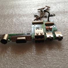 833. Modul Sunet/VGA/USB HP Pavilion DV4000 DV4290EA 48.49Q02.021 384625-001 - Placa de sunet laptop