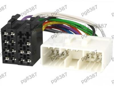 Cablu ISO Daewoo, SsangYong, Suzuki, adaptor ISO Daewoo, SsangYong, Suzuki, 4Car Media-000069 foto