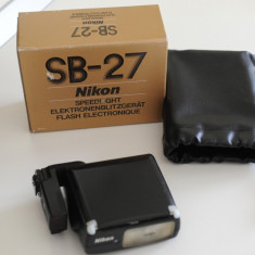 Nikon SB 27 - Blitz dedicat, Aparat foto digital