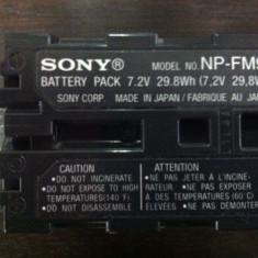 Acumulator Sony NP-FM91, de mare capacitate, infoLITHIUM M