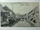 IGHIU - JUD. ALBA -  MULTA ANIMATIE - ZI DE TARG - INCEPUT 1900 - ILUSTRATA RARA