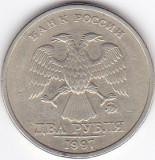 Moneda Rusia (Federatia Rusa) 2 Ruble 1997 - KM#605 VF, Europa