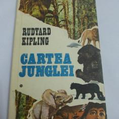 CARTEA JUNGLEI VOL 1, 2 - RUDYARD KIPLING, STARE FOARTE BUNA ! - Carte educativa