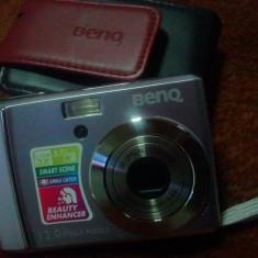 Aparat foto BENQ 12 MPx husa card 1gb - Aparat Foto compact Benq