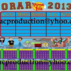 Orar scolar + calendar 2013-2014__M9 Altele