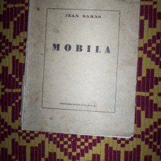 Jean Baras-Mobila(an 1945/exemplarul165) - Carte veche