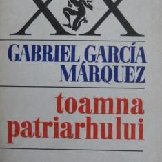 Toamna patriarhului - Gabriel Garcia Marquez - Roman, Anul publicarii: 1979