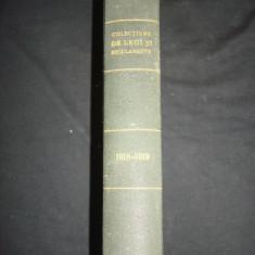COLECTIUNE DE LEGI SI REGULAMENTE - DECRETE, DECISIUNI MINISTERIALE partea I {1918-1919} - Carte de lux